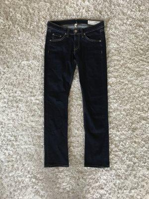 Rag & Bone Denim Jeans Skinny Crop Capri Röhre Jades Luxus