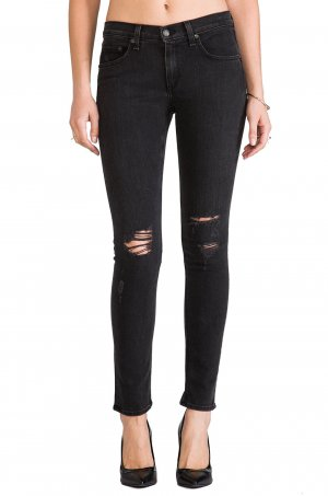 Rag&Bone Distressed Skinny Jeans // Jeans mit Rissen // sehr guter Zustand