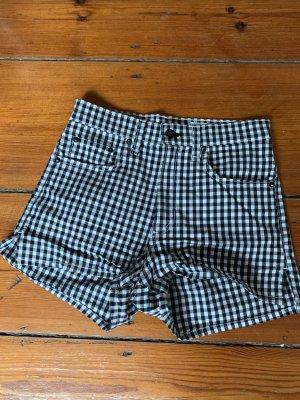 Rag & bone Short moulant blanc-noir coton