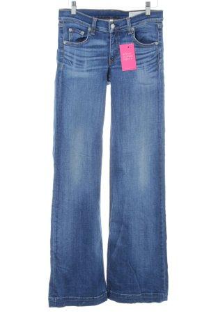 Rag & bone Jeans a zampa d'elefante blu stile casual