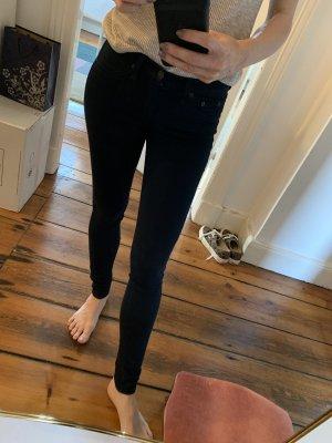 Rag & Bone Jeggings Jeans Größe 25 elastische Jeans in Dunkelblau Skinny Jeans