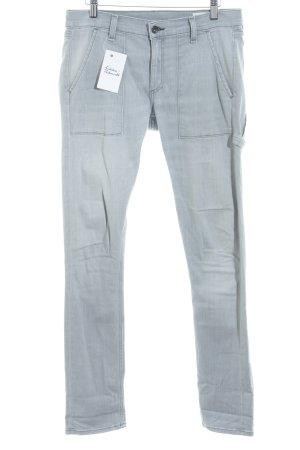 Rag & bone Jeans carotte gris clair style classique