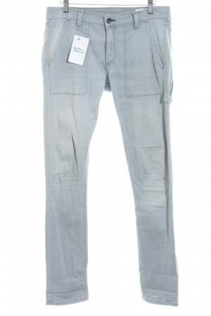 Rag & bone Wortel jeans lichtgrijs klassieke stijl