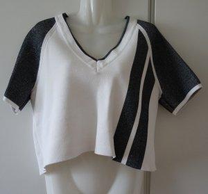Rag & Bone New York Crop Shirt Top Gr. M (38/40) loose fit Lagenlook