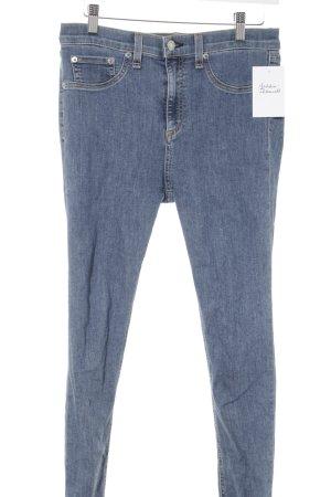Rag & bone Jeans cigarette bleu style décontracté