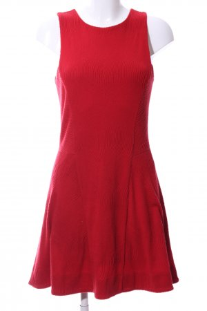 Rag & bone Vestido strapless rojo elegante