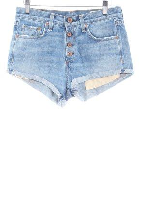 Rag & bone Shorts graublau Casual-Look