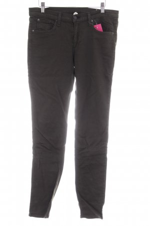 Rag & bone Skinny Jeans dunkelgrün Casual-Look