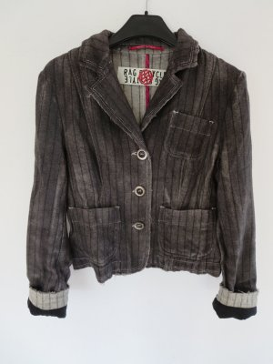 Rag Recycle Wolljacke Blazer used braun