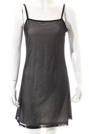 Ragazza Unterkleid schwarz-hellbeige klassischer Stil