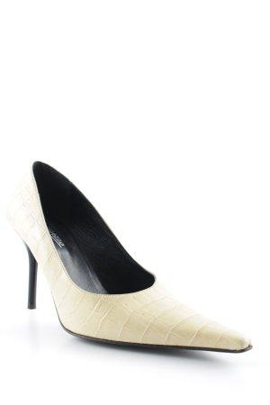 Ragazzo High Heels hellbeige-hellgelb Elegant