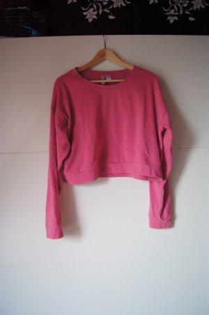 Raglanshirt, Sweatshirt, Sweater, Pullover in pink von H&M