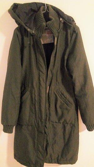 Ragwear Veste matelassée vert foncé tissu mixte