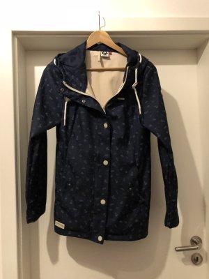 Ragwear Veste longue bleu pétrole polyester