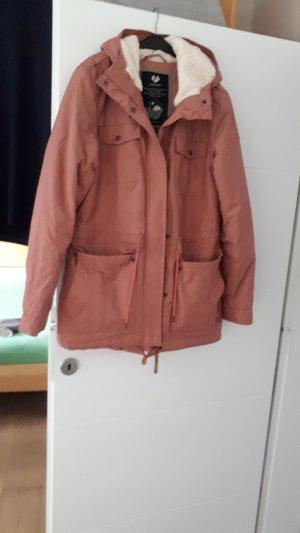 Ragwear Giacca di pelliccia rosa chiaro
