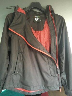 Ragwear Jacke mit seitlichem Reißverschluss