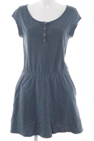 Ragwear Jerseykleid kadettblau Casual-Look