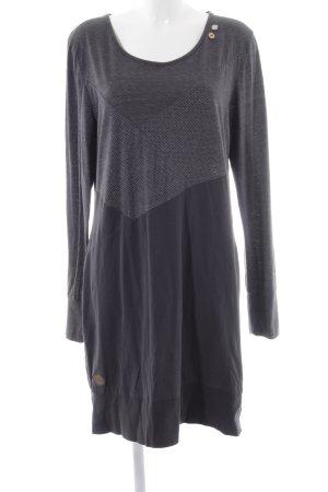 Ragwear Jerseykleid Punktemuster Casual-Look
