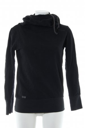 Ragwear Kapuzensweatshirt schwarz Casual-Look
