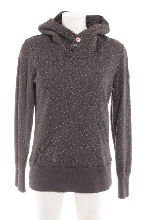 Ragwear Sweatshirt met capuchon Herzmuster casual uitstraling
