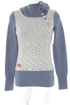 Ragwear Kapuzensweatshirt meliert Casual-Look