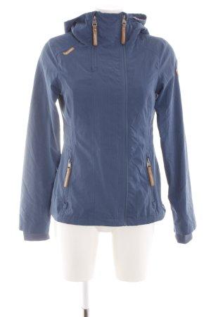 Ragwear Kurzjacke blau Casual-Look