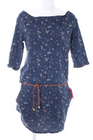 Ragwear Langarmkleid florales Muster Casual-Look