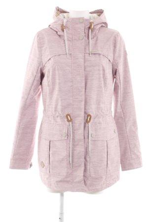 Ragwear Outdoorjacke pink meliert Casual-Look