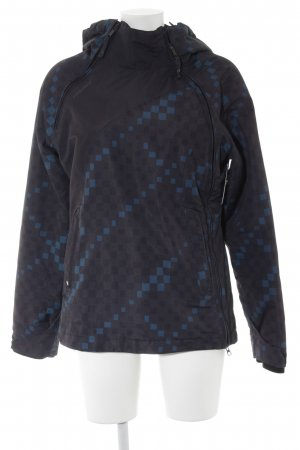 Ragwear Outdoor Jacket dark blue-cadet blue check pattern athletic style