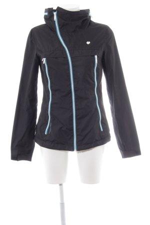 Ragwear Outdoorjacke schwarz sportlicher Stil