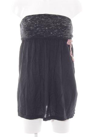 Ragwear schulterfreies Top dunkelblau Casual-Look