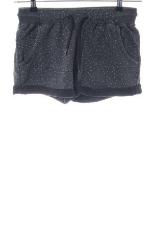 Ragwear Short blauw-wolwit volledige print casual uitstraling