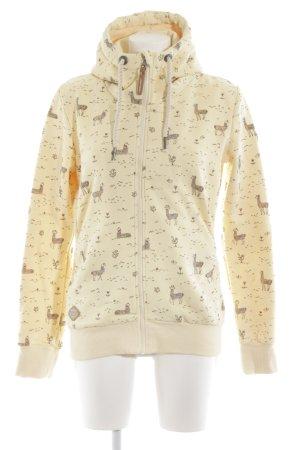 Ragwear Sweat Jacket themed print casual look