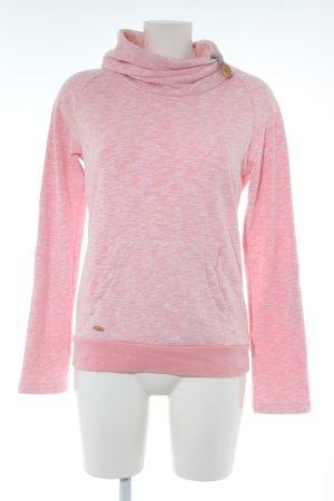 Ragwear Sweatshirt pink meliert Casual-Look