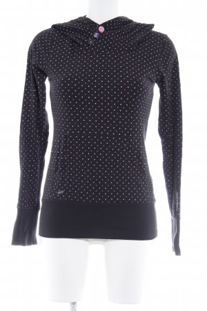Ragwear Sweatshirt Punktemuster Casual-Look