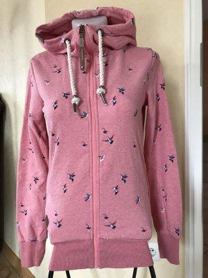 ragwear Sweatshirtjacke Gr S rosa neu