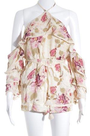 RahiCali Jumpsuit Blumenmuster Boho-Look