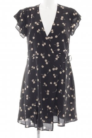 Rails Wraparound black-cream abstract pattern casual look