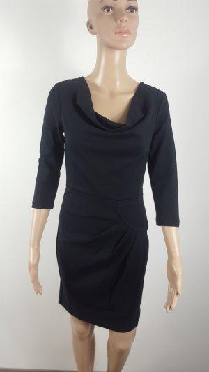 Rainbow Damen Shirtkleid Sweatkleid Größe 34 schwarz Feinstrick NEU