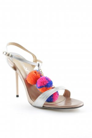 Rainbow High Heel Sandal multicolored extravagant style