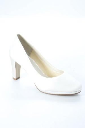Rainbow High Heels weiß-creme Elegant