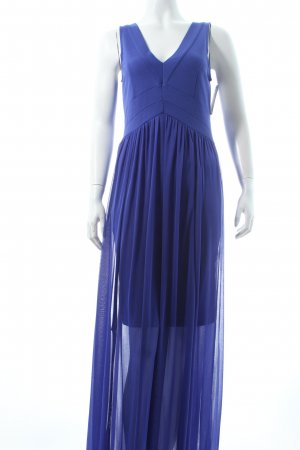 Rainbow Maxikleid blau Eleganz-Look