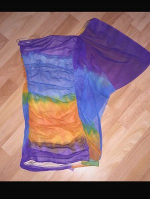 Rainbow one shoulder Kleid gr.36/38