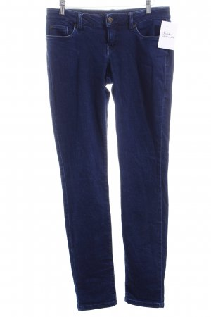 Rainbow Skinny Jeans dunkelblau schlichter Stil