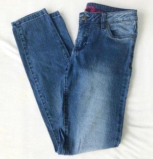 Rainbow Jeans blu acciaio
