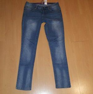 ♥♥♥ Rainbow Skinny Jeans ♥♥♥ Sehr schöne dunkle Waschung