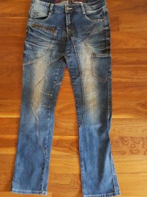 Rainbow Jeans slim fit blu