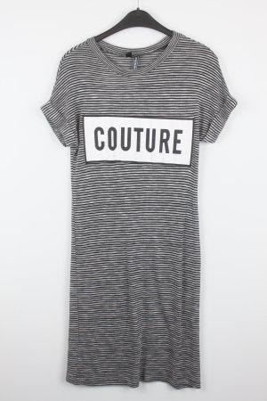 Rainbow T-Shirt Kleid Gr. XS grau/schwarz gestreift (18/7/148)