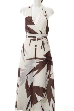 Rainbow Trägerkleid bronzefarben-wollweiß abstraktes Muster Casual-Look