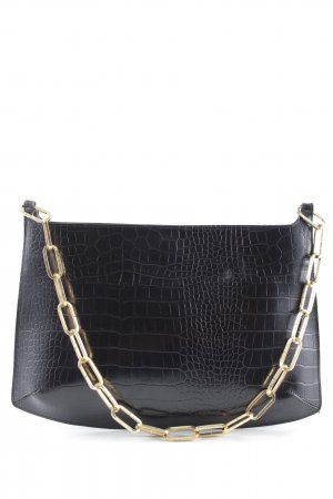 Raison d'être Clutch schwarz Animalmuster Animal-Look